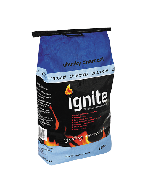 10kg Wattle Lump Wood Charcoal