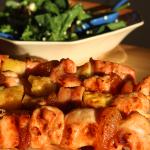 Braai Recipe – Chicken Sosatie with Pineapple & Apricots