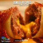 Braai Burgers – Wrapped in Bacon and onions